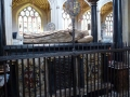 Bath Abbey und das Grab von James Montagu