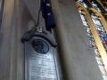 Bath Abbey - Gedenktafel an Admiral Arthur Philipp