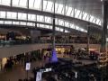 Abflug am Terminal 2 nach der Sicherheitskontrolle