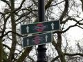Hyde Park Wegweiser