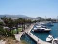 Johanniterkastell mit Blick auf den Hafen