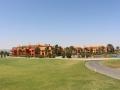 Blick auf das Hotel vom Golfplatz aus