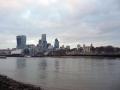 Blick vom anderen Ufer auf den Tower of London