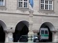 Hildegard-Brunnen & Neuer Bau