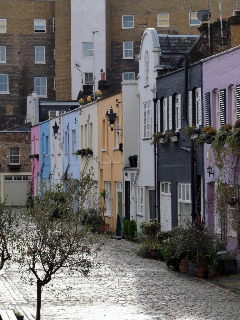 Conduit Mews - Ein wenig Notting Hill an der Paddington Station