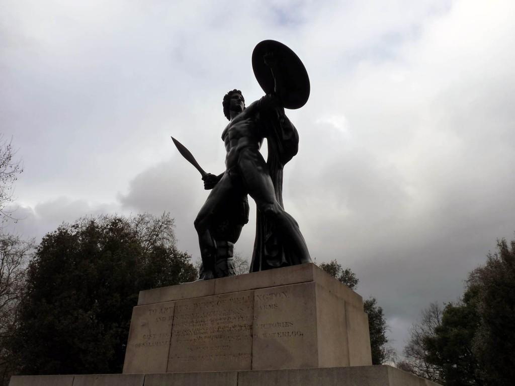 Achilles bekannt aus dem Film Troja ;-)