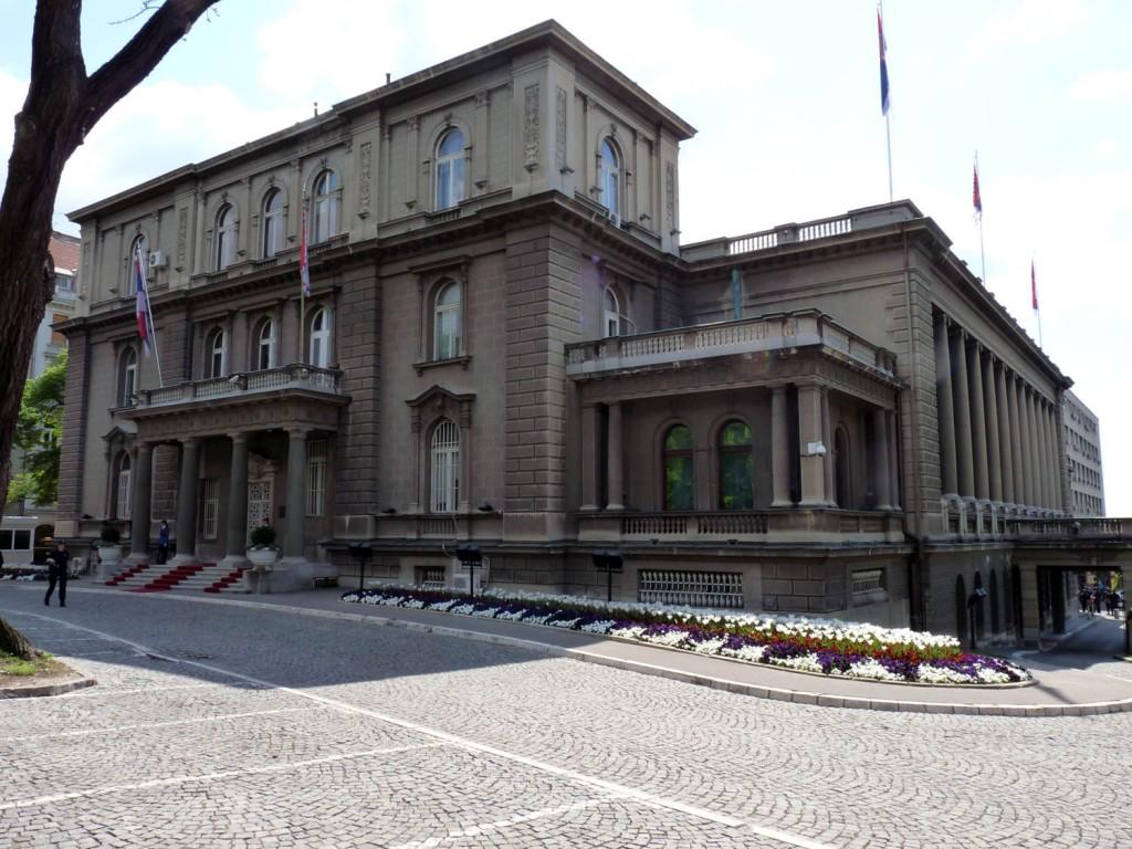 Der Präsidenten Palast – neue Palast
