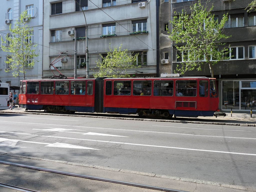 Tram in Belgrad