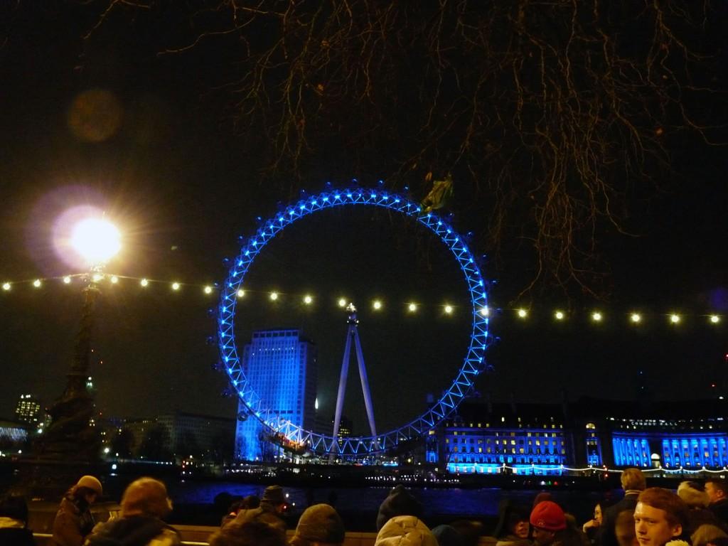 Eine perfekte Sicht auf das London Eye
