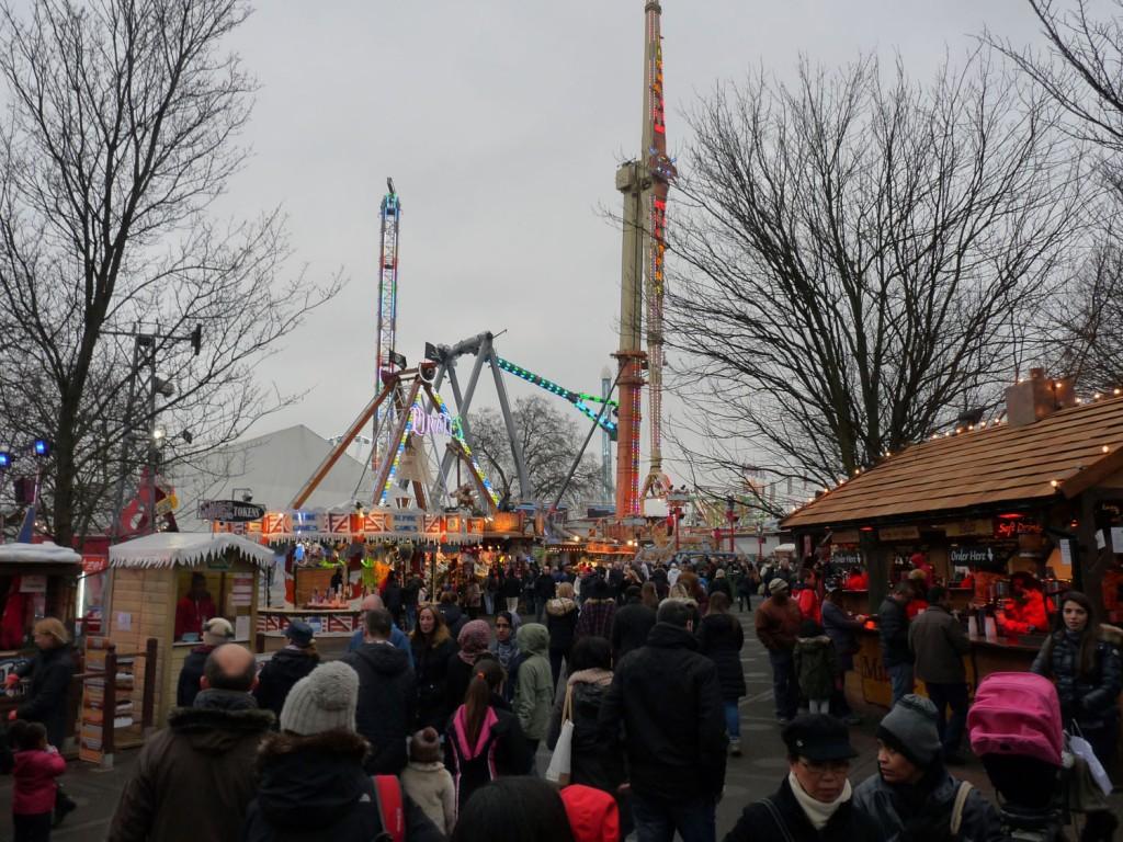 Winterwonderland im Hyde Park