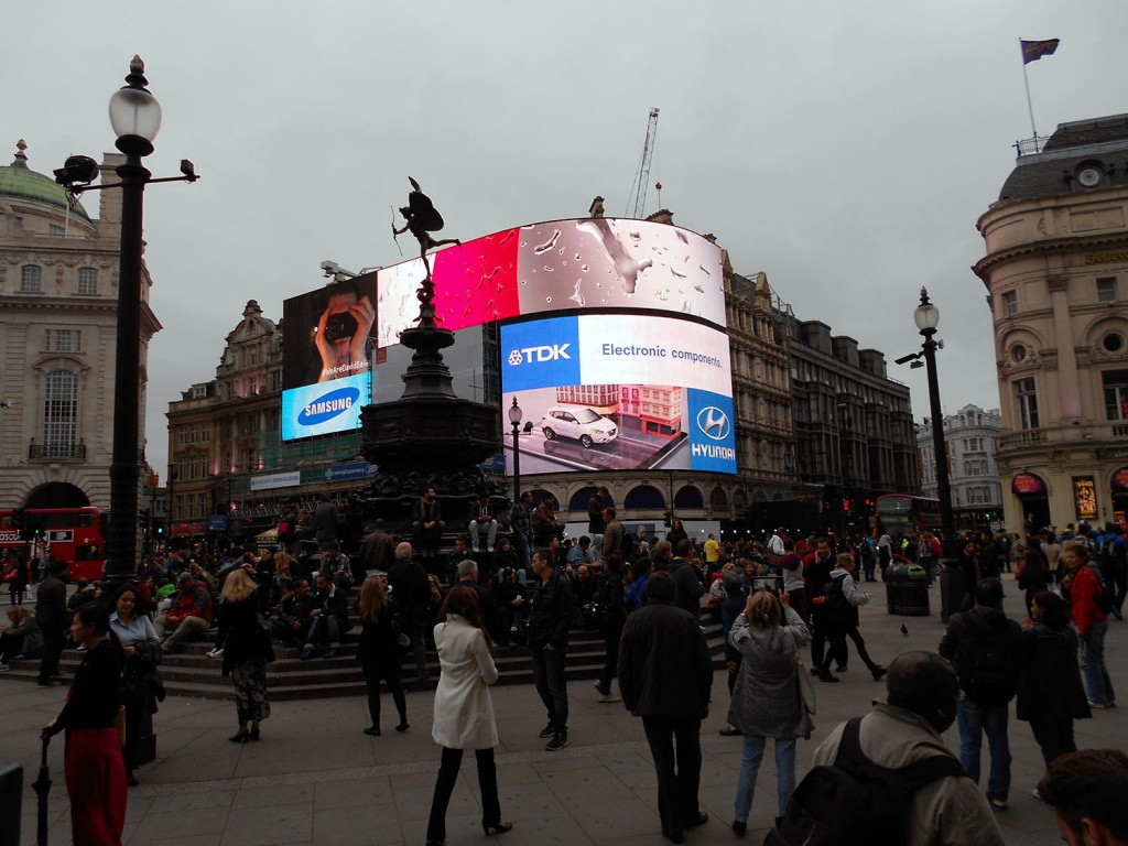 Piccadilly Circus 2013