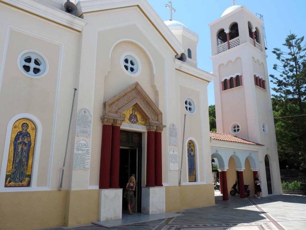 Kirche Agía Paraskeví