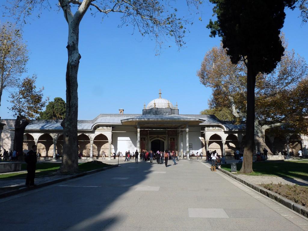 Topkapi-Palast - Eingang zu Hof 2