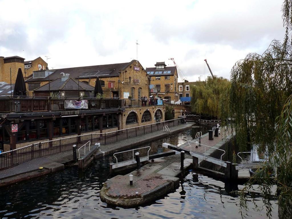 Camden Lock Market und Regents Canal