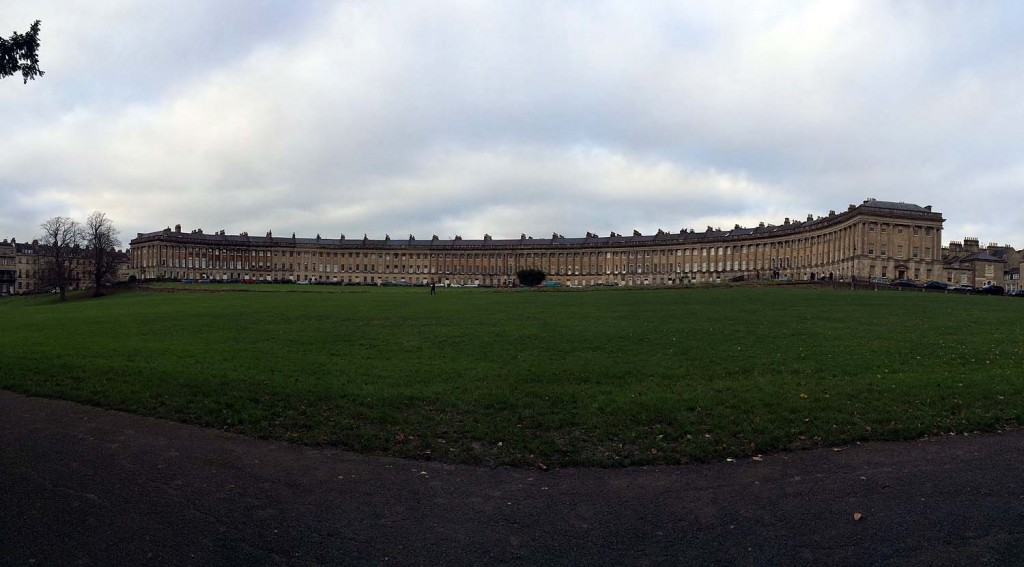 Das Royal Crescent