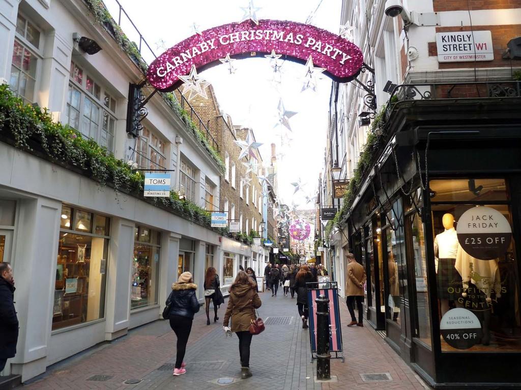 Die Carnaby Street