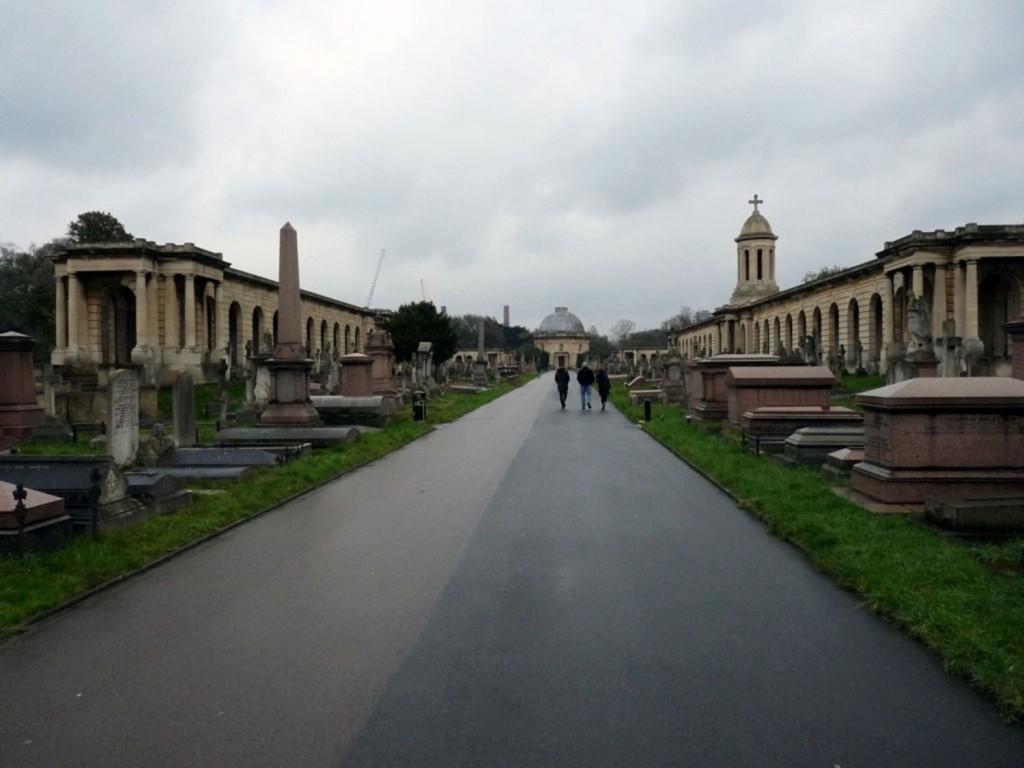 Auf dem Brompton Friedhof / Cemetery