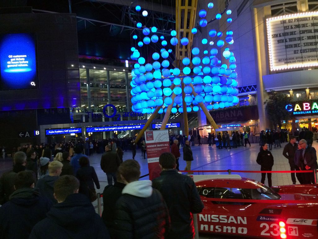 Eingangshalle im Millennium Dome - The O2