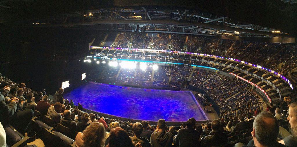 Blick im Millennium Dome - The O2