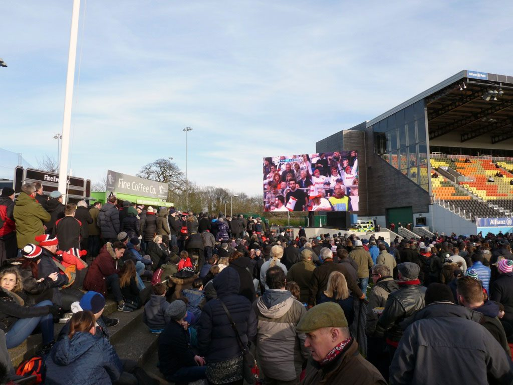 Public Viewing der Rugby WM 2016
