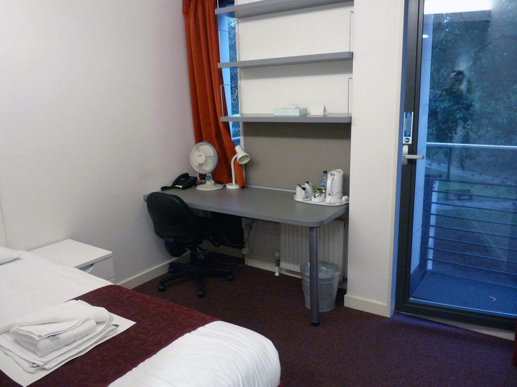 Das Einzelzimmer im Studentenwohnheim