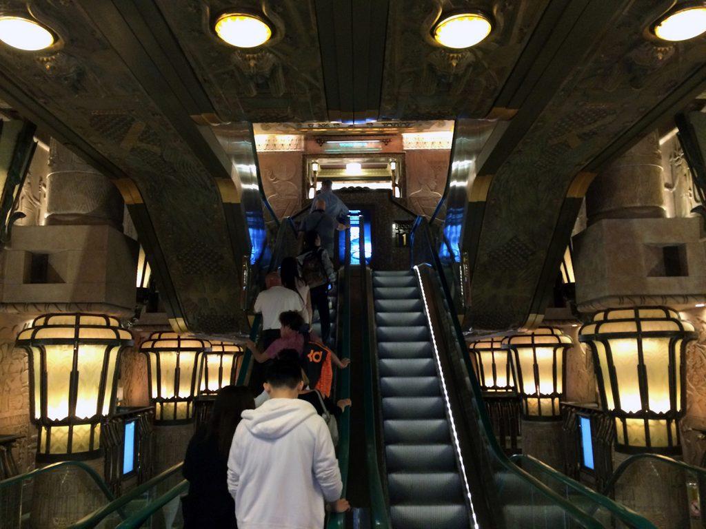 Die Ägyptische Rolltreppe