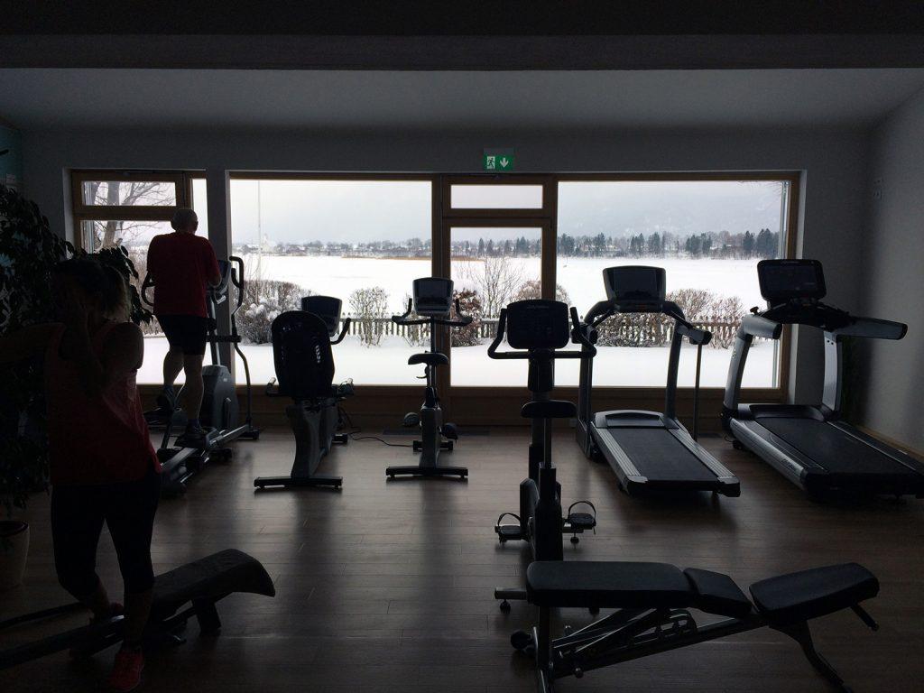 Der Fitnessbereich im Hotel Sommer