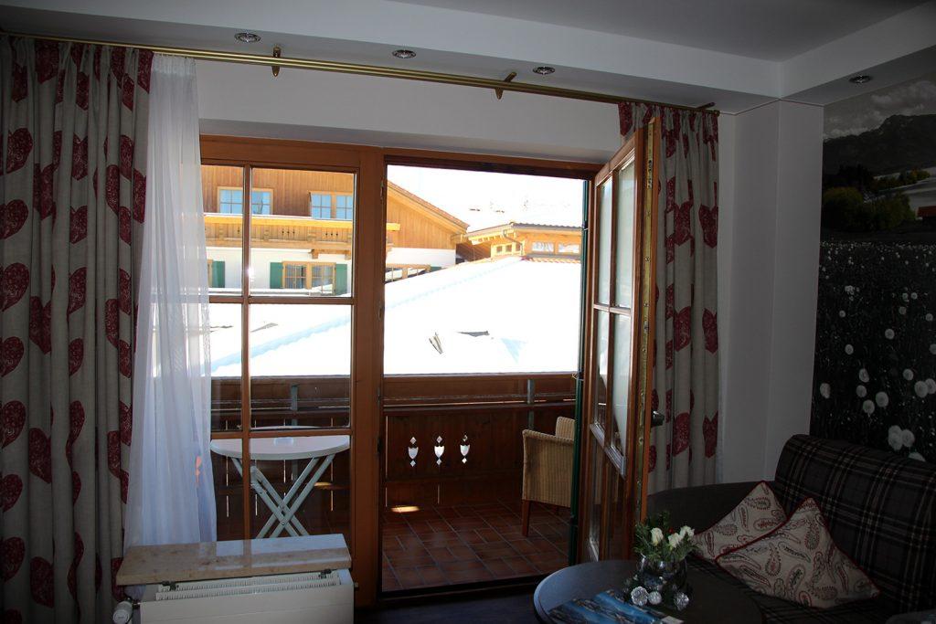 Unser Zimmer im Hotel Sommer