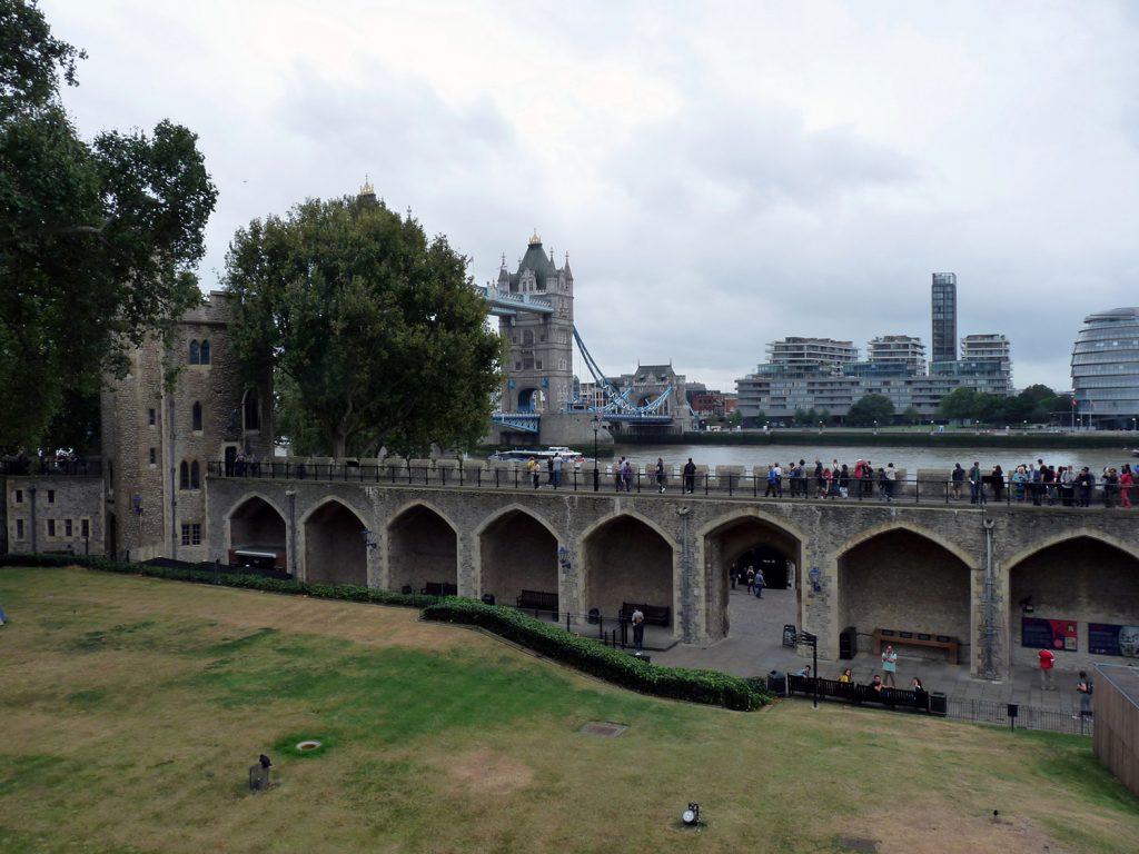 Tolle Aussichten vom Tower of London