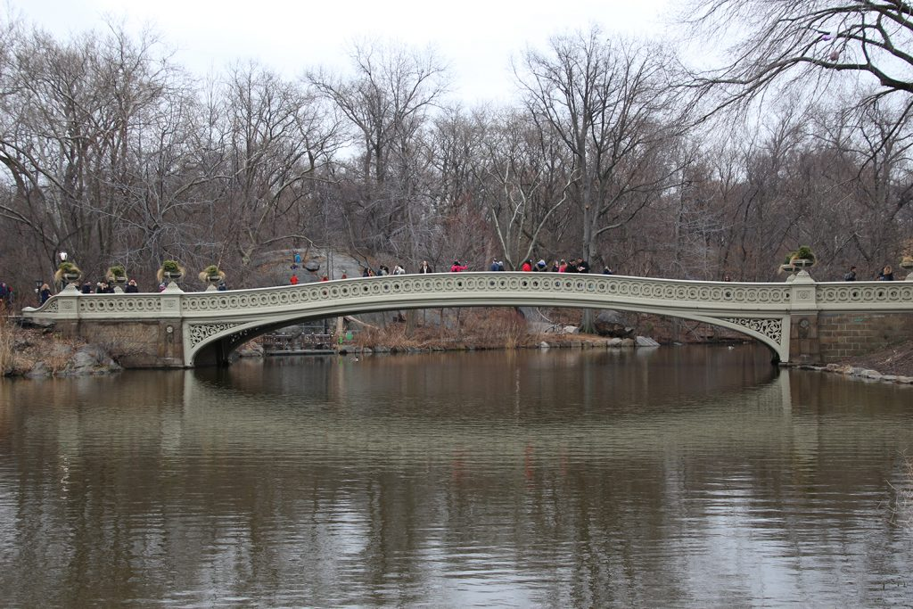 Bekannt aus vielen Filmen und Serien, die Bow Bridge