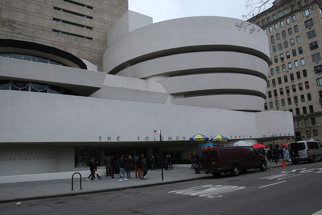 The Solomon R Guggenheim Museum