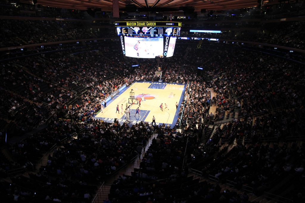 Der Madison Square Garden in New York