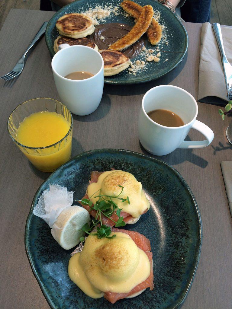 Leckeres Frühstück in der Darwin Brasserie