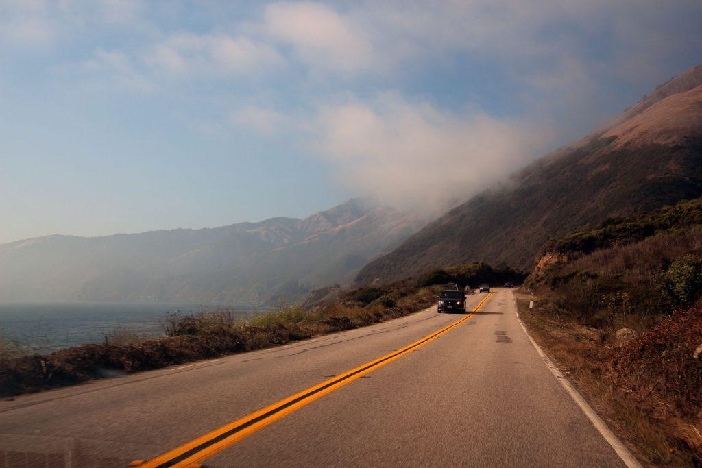 Auf dem Highway 1