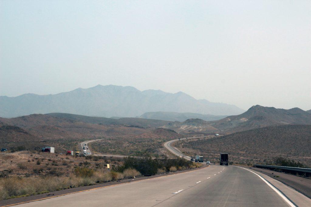 Zwischen Los Angeles und Grand Canyon
