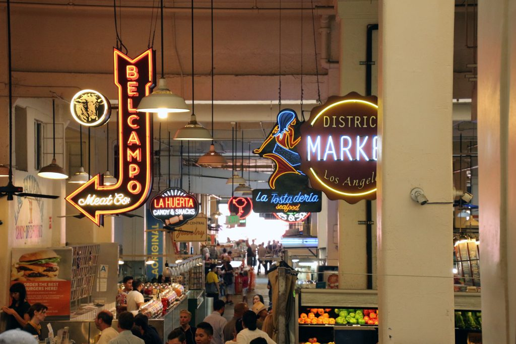 Der Grand Central Market in Downtown LA