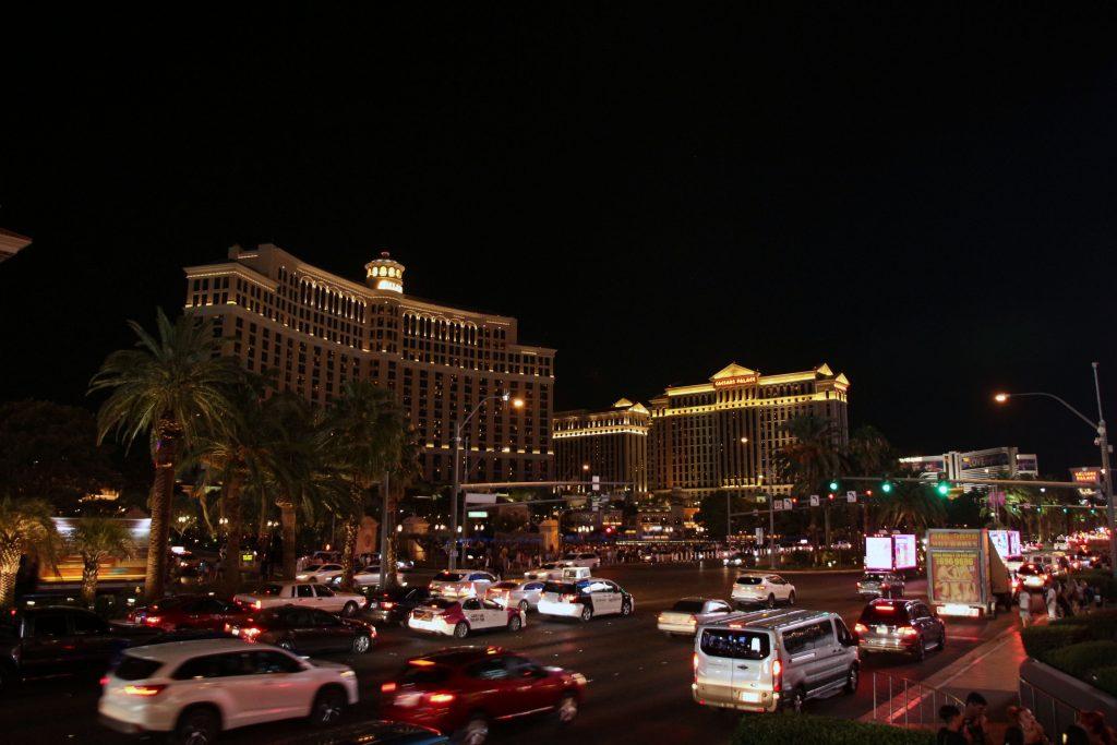 Auf dem Las Vegas Strip