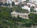 Blick auf Ancient Agora
