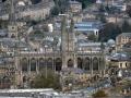 Ausblick auf Bath vom Alexandra Park auf die Bath Abbey