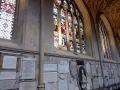 Bath Abbey und Gedenktafeln