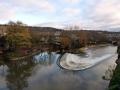 Fluss Avon und das Rugby Stadion