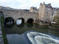 Pulteney Bridge und der Fluss Avon