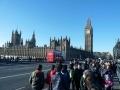 Houses of Parliament von der Westminster Bridge