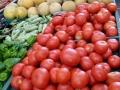 frisches Obst in der Markthalle