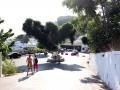 Vor der Stadt in Lindos