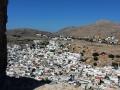 Blick auf Lindos von der Akropolis