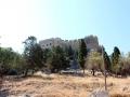 Blick auf die Akropolis vom Eselweg