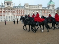 The Horse Guards Parade am Paradeplatz