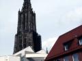 Moderne Architektur und Ulmer Münster