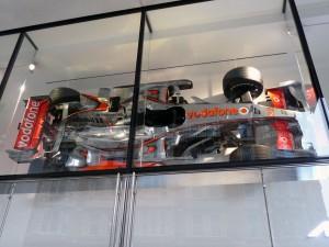 McLaren London an der 100 Knightsbridge